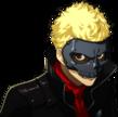 P5 portrait of Ryuji's phantom thief outfit