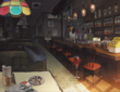 P5 concept art of Cafe Le Blanc, 02
