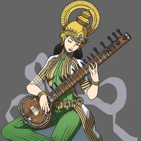 Arquivo:Concept anime artwork of Sarasvati in P3M.jpg