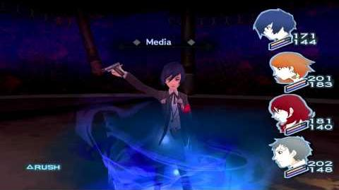 Persona 3 FES The Journey Full Moon Boss Lovers Hard