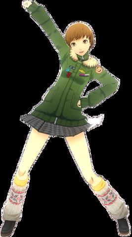 File:P4D Chie Satonaka School Uniform Midwinter change free DLC.png