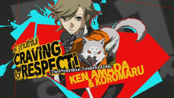 File:P4AU Ken and Koromaru Render.jpg