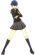 P4D Naoto Shirogane yasogami female school uniform