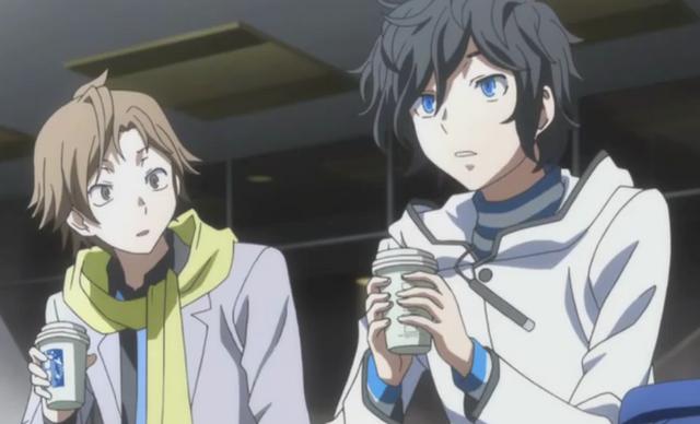 File:Hibiki and Daichi discussing.png