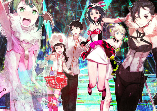 File:TMS main female cast and Itsuki illustration by toi8.jpg