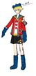 P4D Official Visual Visual Book Original Stage Costume for Teddie, 02