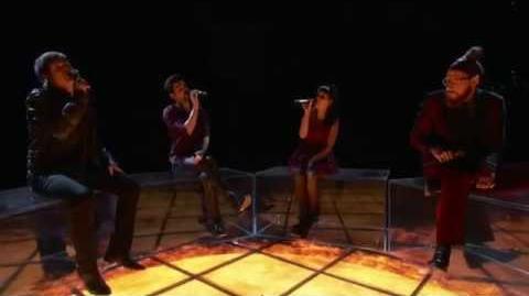 "The Voice S3 Terry McDermott, Melanie, Nicholas, Cody - ""Rhythm of Love"""