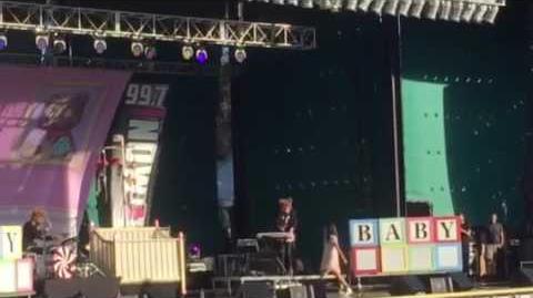 Melanie martinez 'pity party' live at summer splash