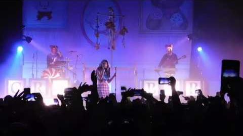 3-12-16 1 of 10 Melanie Martinez Crybaby clip live