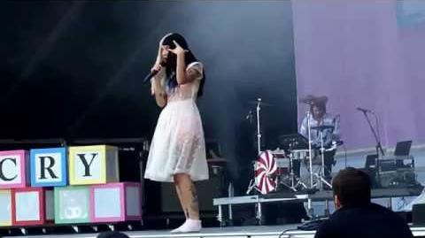 Mad Hatter - Melanie Martinez at Osheaga Festival Montreal CA 7 31 16