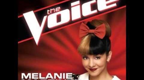 "Melanie Martinez ""Bulletproof"" - The Voice (Studio Version)"