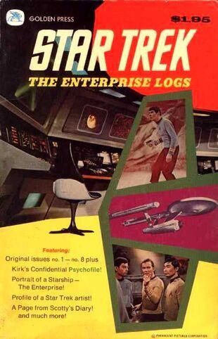 Cover of <i>The Enterprise Logs</i>.