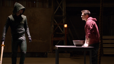 Oliver trains Roy to control his powers