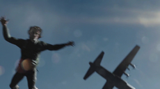 Oliver is forcibly parachuted back to Lian Yu