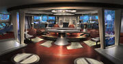 USS Aurora bridge