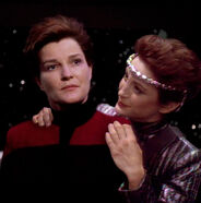 The Intendant and Evil Janeway 2
