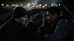 Oliver and Slade blackmail Fyers