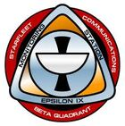 Epsilon IX mission patch