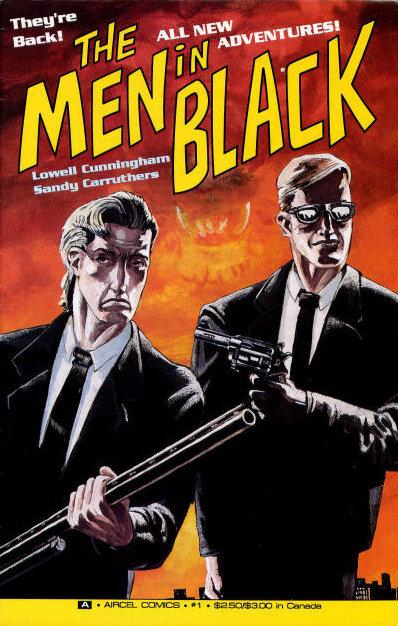 Afbeeldingsresultaat voor men in black comic