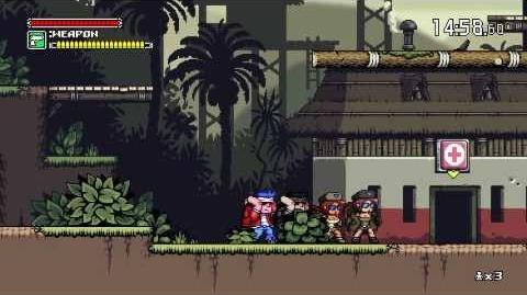 Mercenary Kings Online Multiplayer Gameplay Footage
