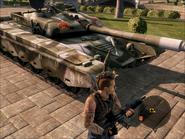 Iron Mountain Heavy Tank Front Close-up