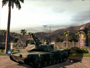 Diplomat Heavy Tank Pose