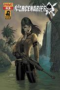 Mercenaries (comic) - Issue 3 Cover