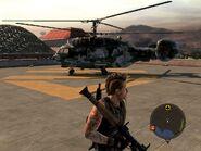 Locust Assault Helicopter Left Side