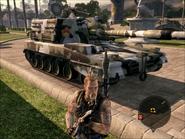 Tempered Hammer Artillery Right Front on Foot
