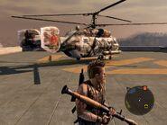 Locust Assault Helicopter Rear Quarter
