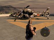 Warsong Attack Helicopter Left Side