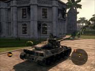 Jaguar Heavy Tank Rear Quarter