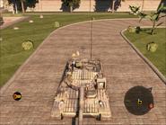 Jaguar Heavy Tank Top Front