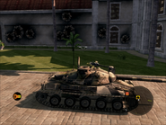 Jaguar Tank Right Side