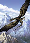 Wyvern from the myth