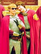 Bradley and Alex (Mordred and Arthur)