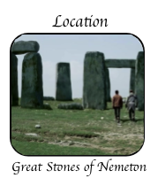 Location great Stones Nematon