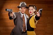 Bonnie & Clyde - Dead Or Alive - HQ Production Still 1 (B)