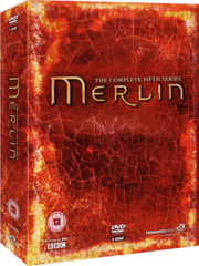 Merlin series 5 box set