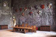 Caerph great hall