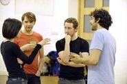 Natalie Abrahami, Chris Logan, Michael Dylan and Justin Avoth. Photo credit Keith Pattison 1495