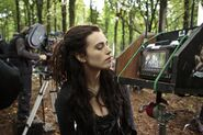Katie McGrath Behind The Scenes Series 5-7