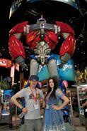 Colin Morgan and Katie McGrath Comic Con 2011