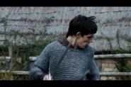 Merlin during battle