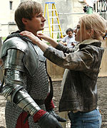 Bradley James Behind The Scenes