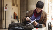 Colin Morgan Behind The Scenes Series 3-5
