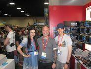 Katie McGrath and Colin Morgan Comic Con 2011