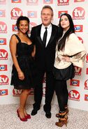 Angel Coulby Anthony Head and Katie McGrath