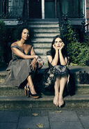 Angel Coulby and Katie McGrath-6