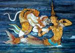 Suvannamaccha And Hanuman